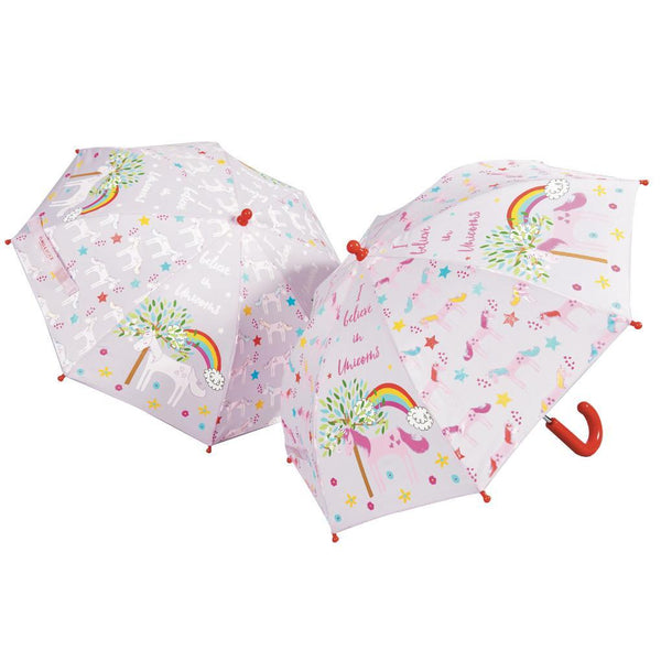 Floss & Rock Unicorn Color Changing Umbrella