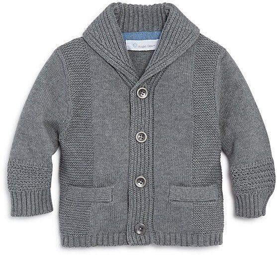 Angel Dear Shawl Collar Cardigan - Grey Heather