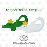 Maison NOLA Silicone King Gator Teether