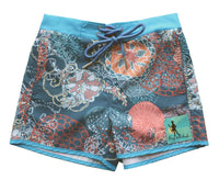 King of Redonda HARRISON Coral Boardshort