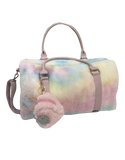 Cotton Candy Junior Faux Fur Duffle
