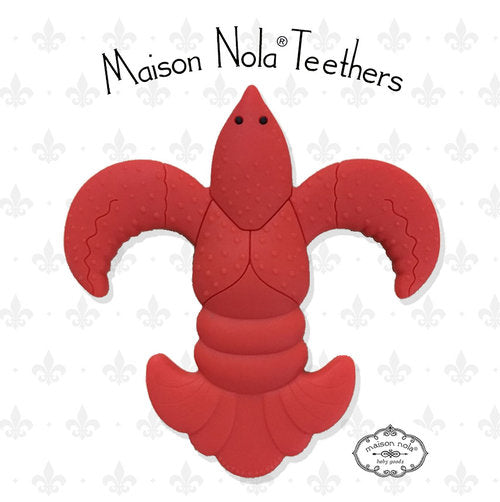 Maison NOLA Silicone Crawfish Teether