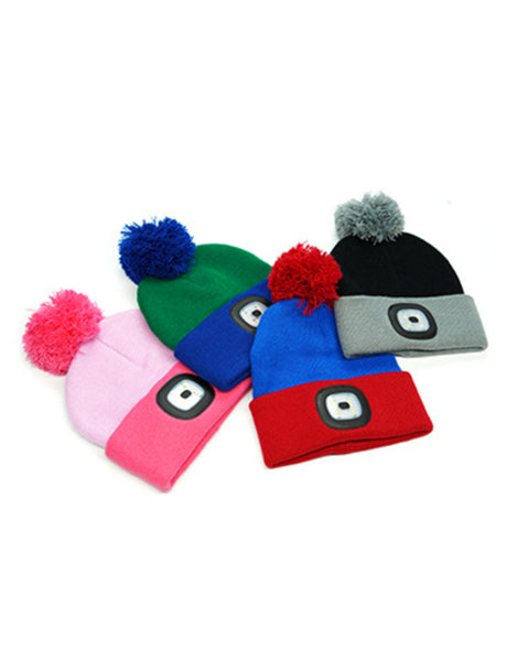 Kid's Night Scout Knit Beanie w/ Rechargeable LED Light