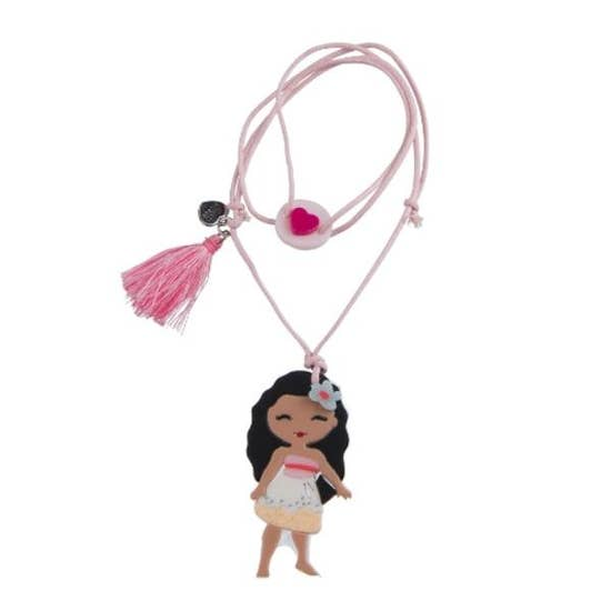 Adjustable Acrylic Princess Necklace - Moana