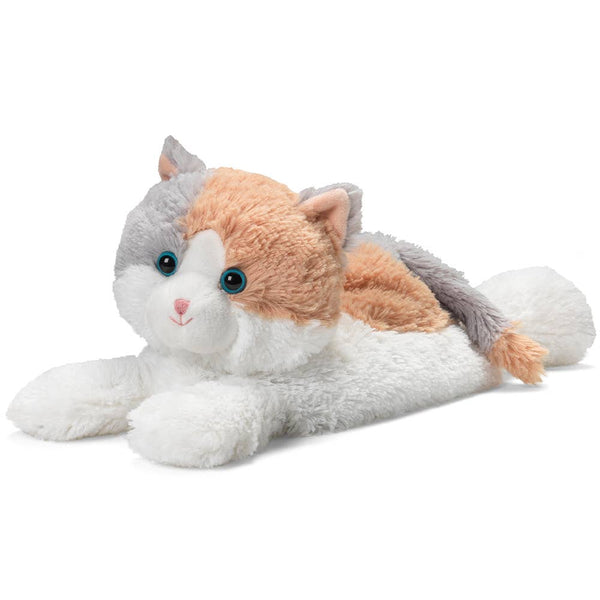 "Calico Cat - Warmies 13"" Microwaveable Plush Animal Lavender Scented"