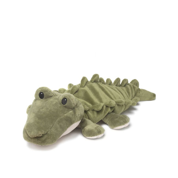 "Gator - Warmies 13"" Microwaveable Plush Animal Lavender Scented"