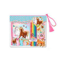 Majestic Horse Coloring Journal Gift Set