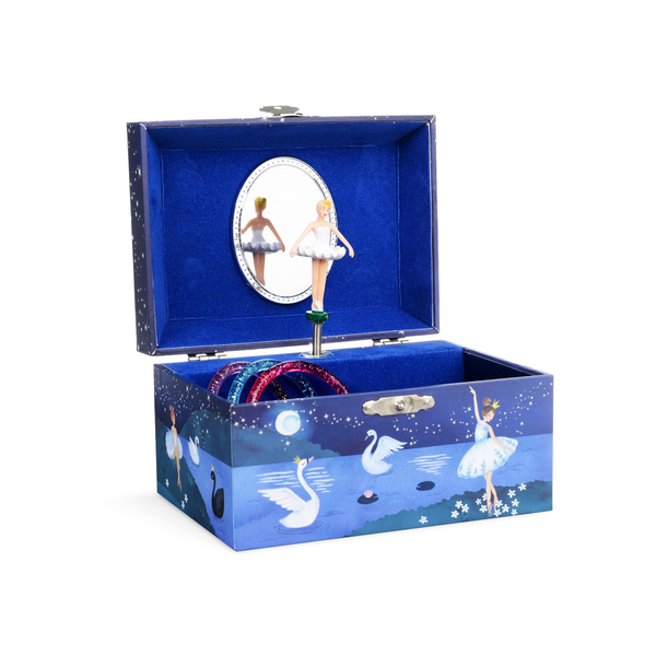 Swan Lake Ballerina Musical Jewelry Box