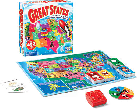 Great States - Geography Board Game