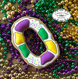 Maison NOLA Silicone King Cake Teether