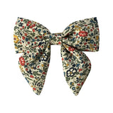 Liberty of London Fabric Hair Bow w/ Alligator Clip -  Katie & Millie A