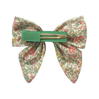 Liberty of London Fabric Hair Bow w/ Alligator Clip -  Katie & Millie B