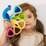 Tender Leaf Toys Peacock Colors