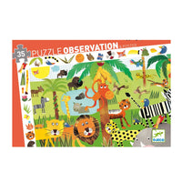 Djeco Jungle Observation Puzzle