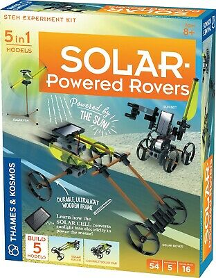 5 in 1 Models: Solar Powered Rovers - STEM Experiment Kit