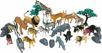 National Geographic Wild Animals 30Pc Playset
