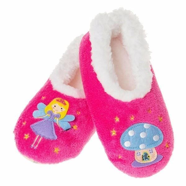 Snoozies Pairables Slippers - Fairy/Toadstool
