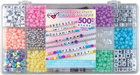 Tell Your Story Alphabet Bead Case Bracelet Making Kit (Small) - Pastel Rainbow