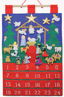 Nativity Scene Fabric Advent Calendar