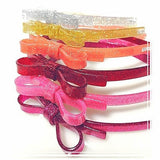 Acrylic Thin Bow Headbands - Assorted