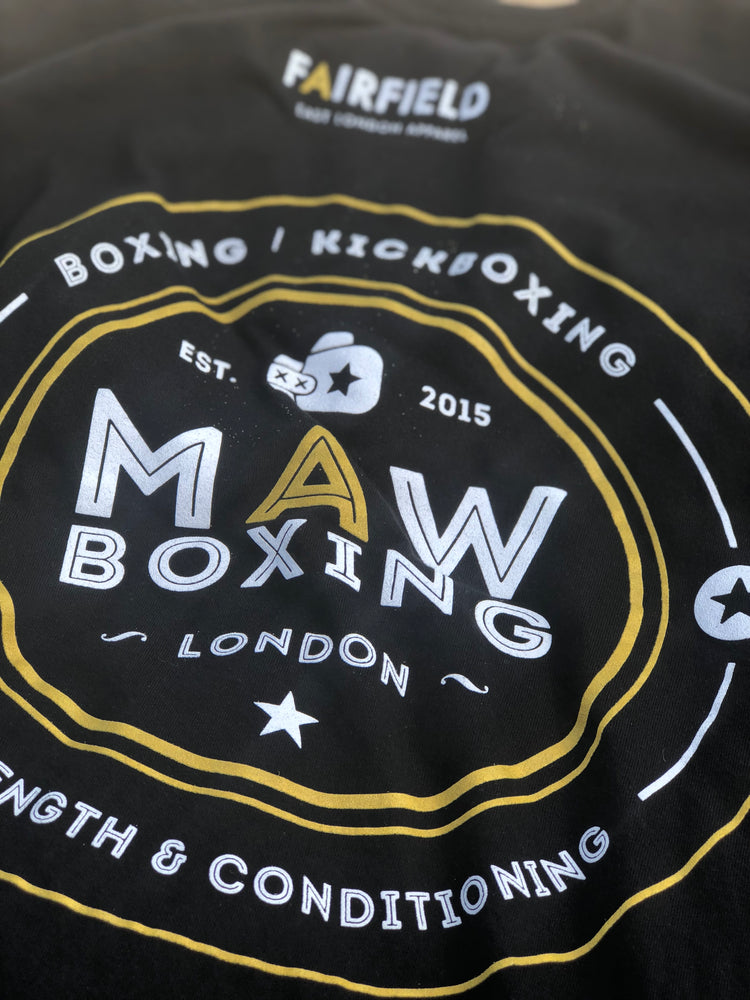 Fairfield/ MAW Boxing collab short sleeve tshirt