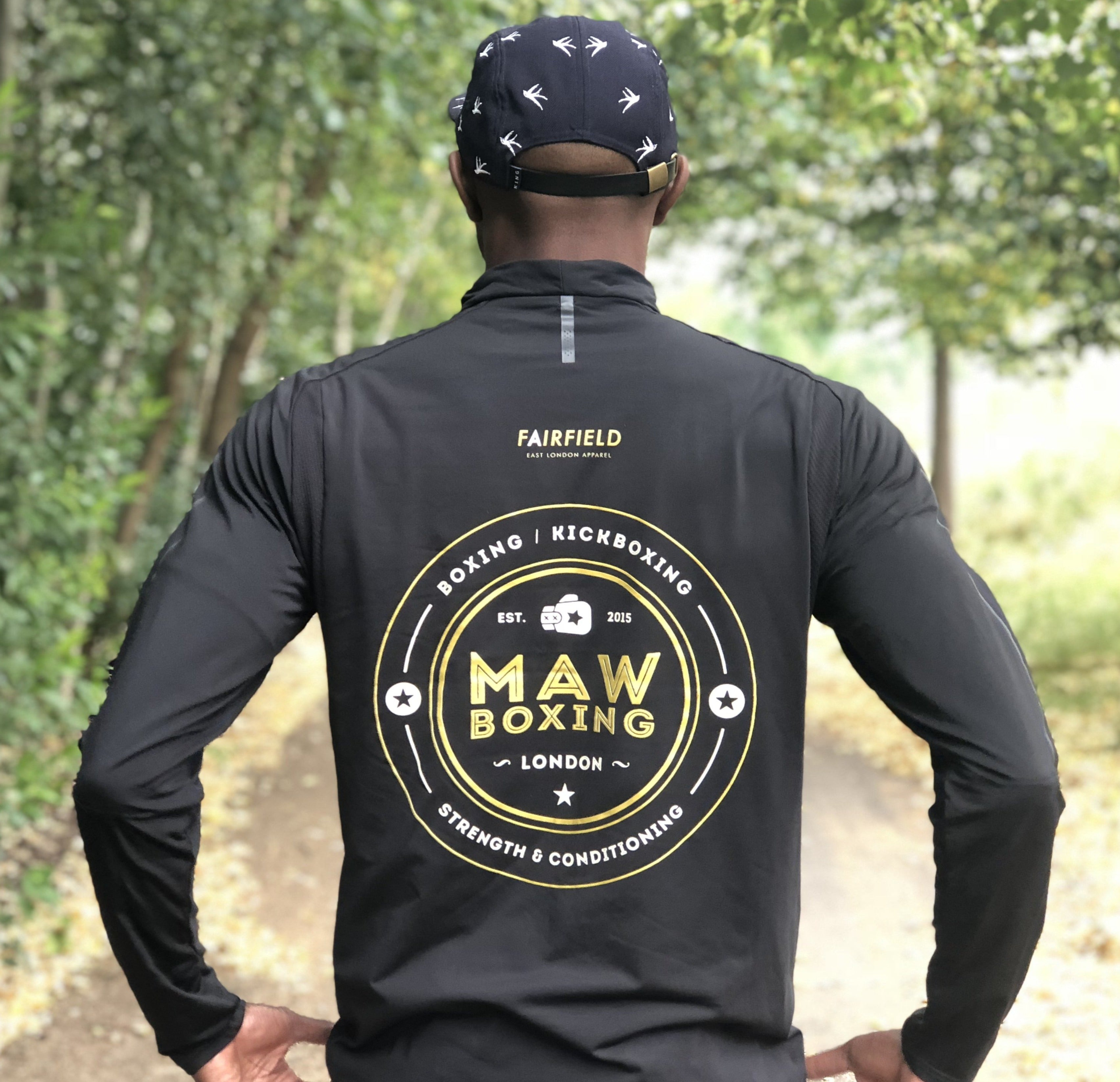Long sleeve T Shirt collab with MAW Boxing
