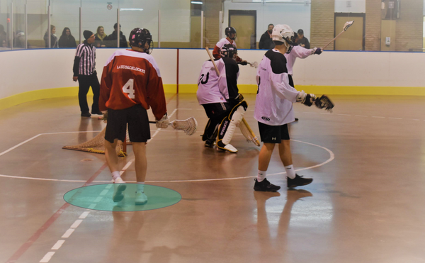 Box Lacrosse Power Play Crease