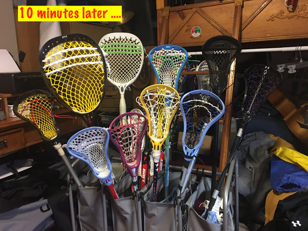 Stick Repair and Re-Stringing - Ladies Field