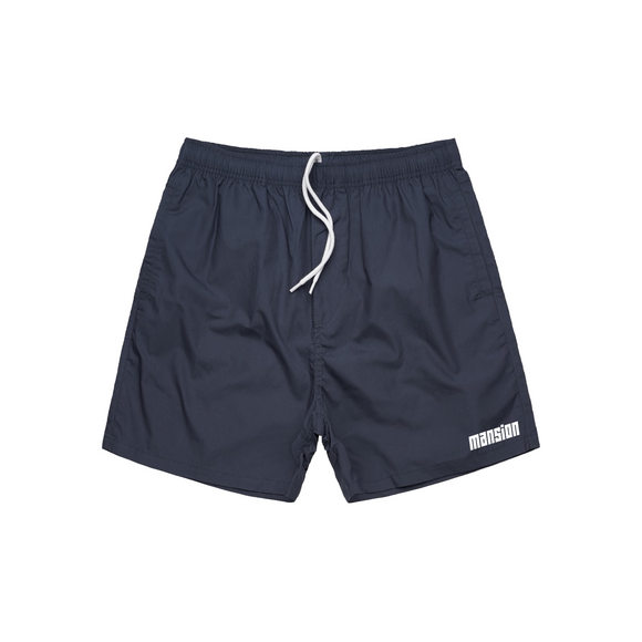 BASIC CASUAL SHORTS CHARCOAL BLUE