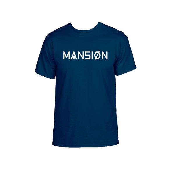 WORDMARK T-SHIRT NAVY