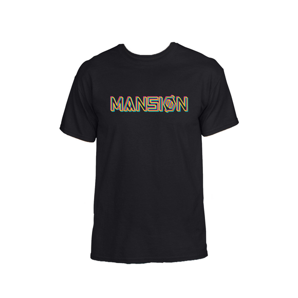 NEONS T-SHIRT BLACK
