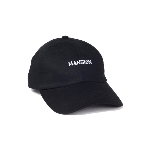 WORDMARK DAD HAT BLACK