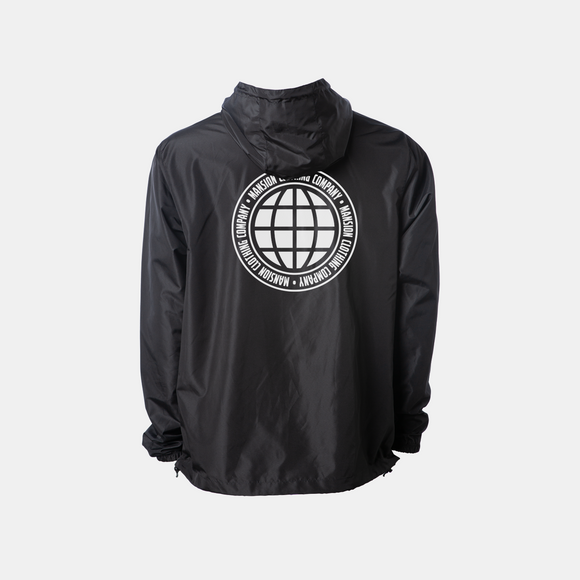 WORLDWIDE ANORAK WINDBREAKER BLACK