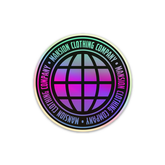 WORLDWIDE HOLOGRAPHIC STICKER