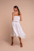 jasmine midi dress white back