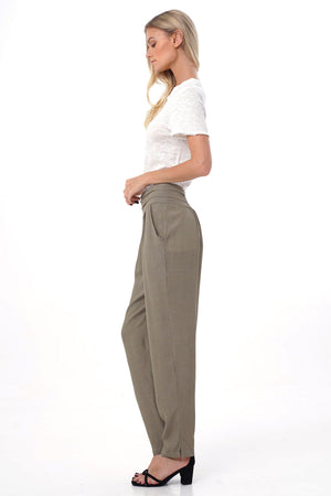 olive aquarella pants side