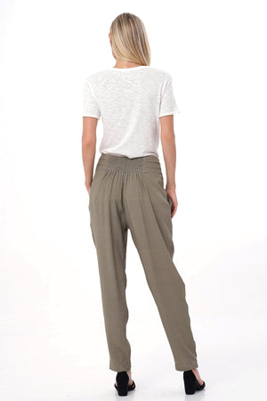 olive aquarella pants back