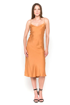 cayenne camisole midi dress front