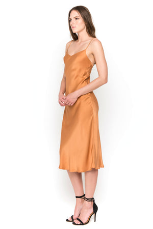 cayenne camisole midi dress side
