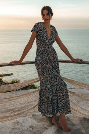 Cecilia Maxi Dress - uma and leopold