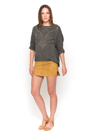 carbono lisa blouse front