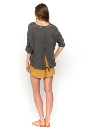 carbono lisa blouse back