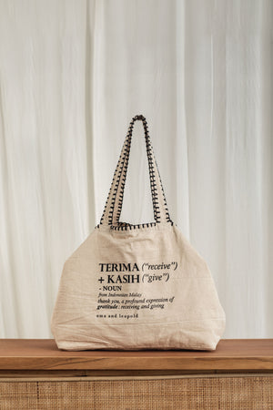 Terima Kasih Bag - uma and leopold