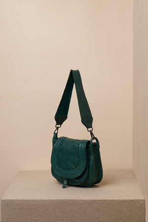 sling leather bag