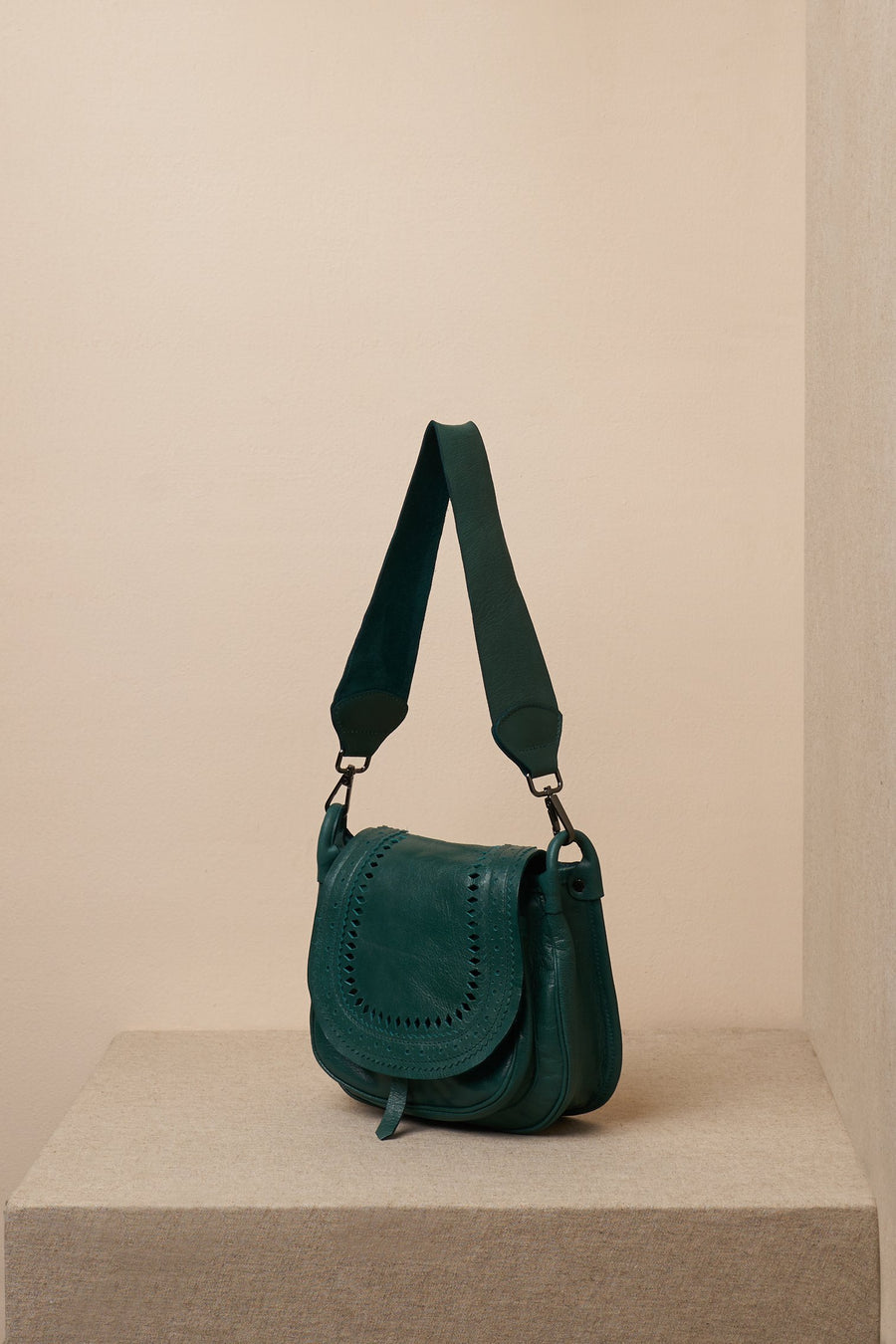 jade bag green