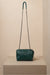 jessica green leather bag