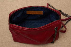 jessica bag red inside