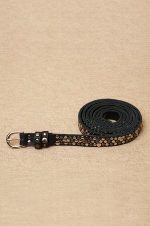 jessica thin belt black