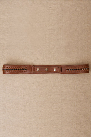 lauren leather belt