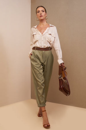 lauren pants olive best seller